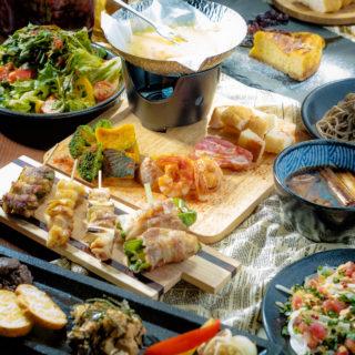 【3時間飲み放題/自家製レモンサワー付】炭火焼ステーキ、博多名物炊き餃子が味わえるコース4500円(税込)